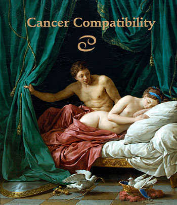 Classical Zodiac Sign Astrology of Cancer Compatibility.