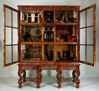 Dollhouse by Petronella Oortman, 17th century.